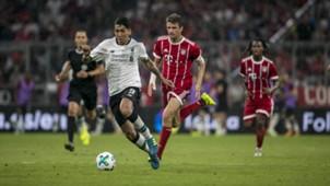 Roberto Firmino, Thomas Müller, Audi Cup 2017, Liverpool - Bayern, 02082017