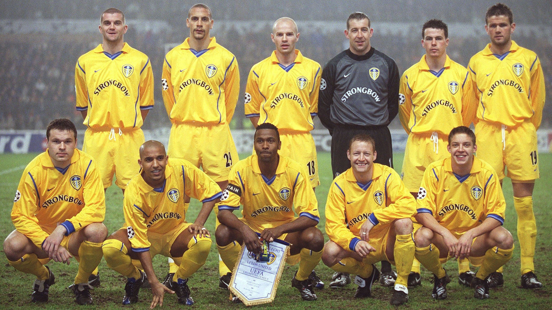 Leeds United 2000/2001 Team