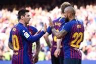 Messi Arturo Vidal Barcelona Getafe LaLiga