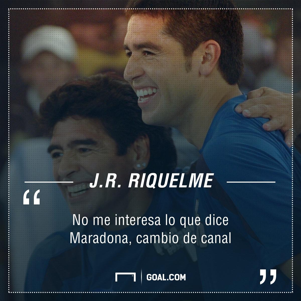 Roman Riquelme Diego Maradona PS