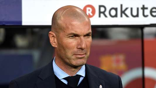 Zinedine Zidane Barcelona Real Madrid El Clasico LaLiga 06052018