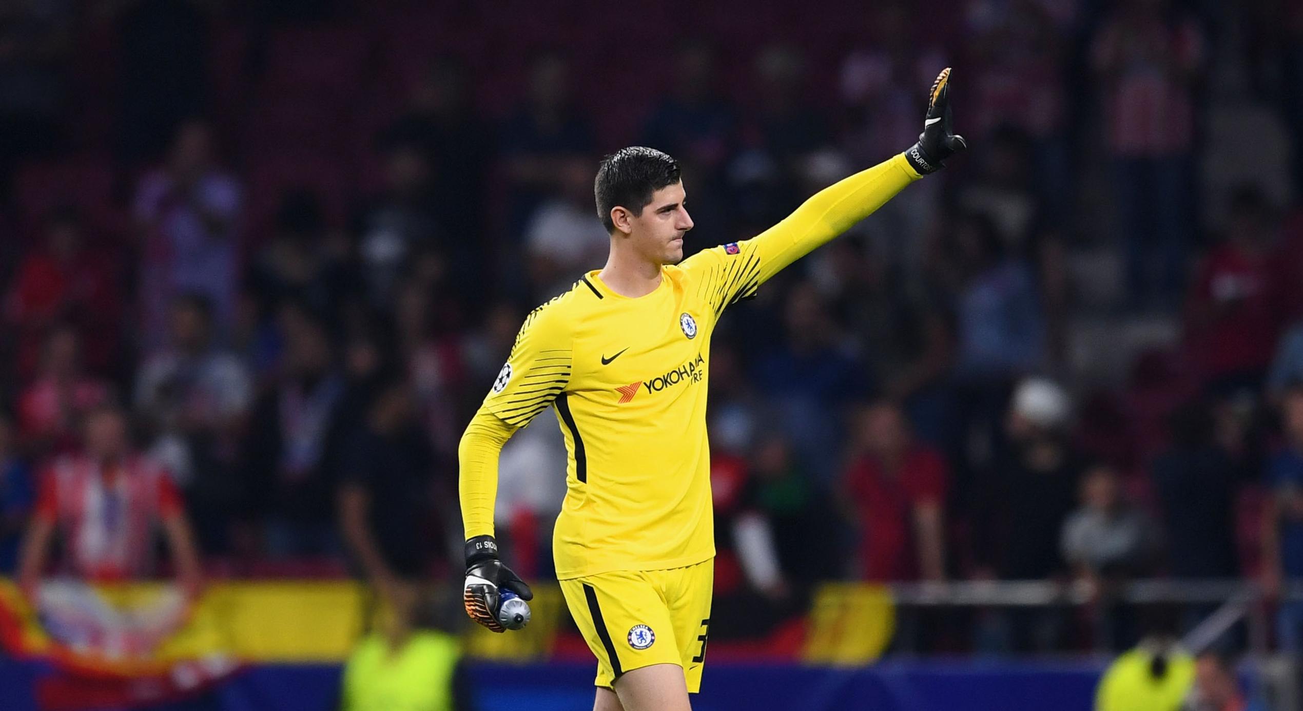 Thibaut Courtois Chelsea Atletico Madrid