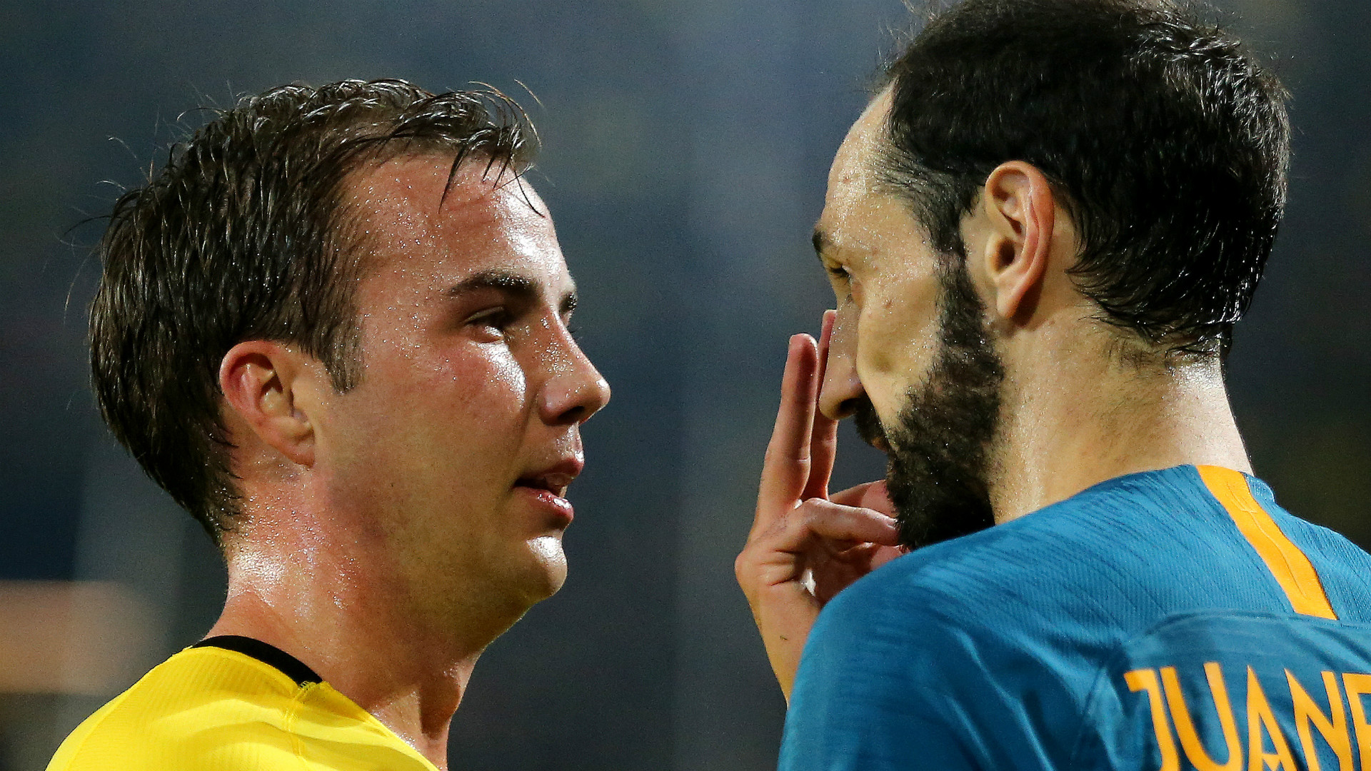 MARIO GÖTZE BORUSSIA DORTMUND JUANFRAN ATLETICO MADRID UEFA CHAMPIONS LEAGUE 2410218