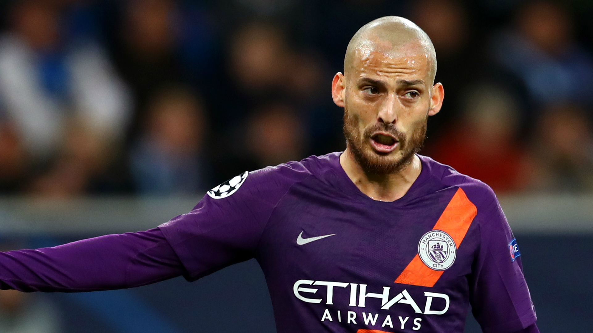 David Silva Hoffenheim Manchester City 2018