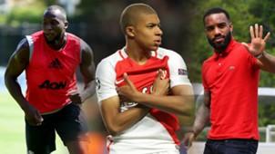 Lukaku, Mbappe, Lacazette split