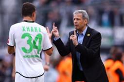 Lucien Favre Granit Xhaka Borussia Monchengladbach
