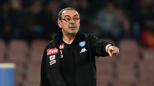 Maurizio Sarri Napoli coach