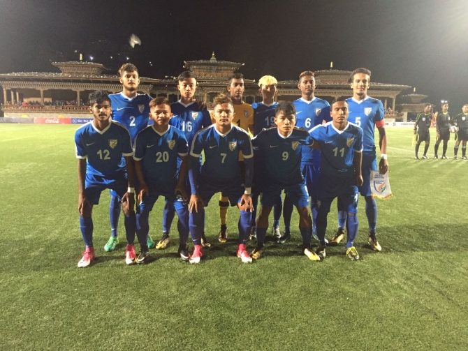 SAFF U-18 C'ship: Lalawmpuia brace sets up Indian victory