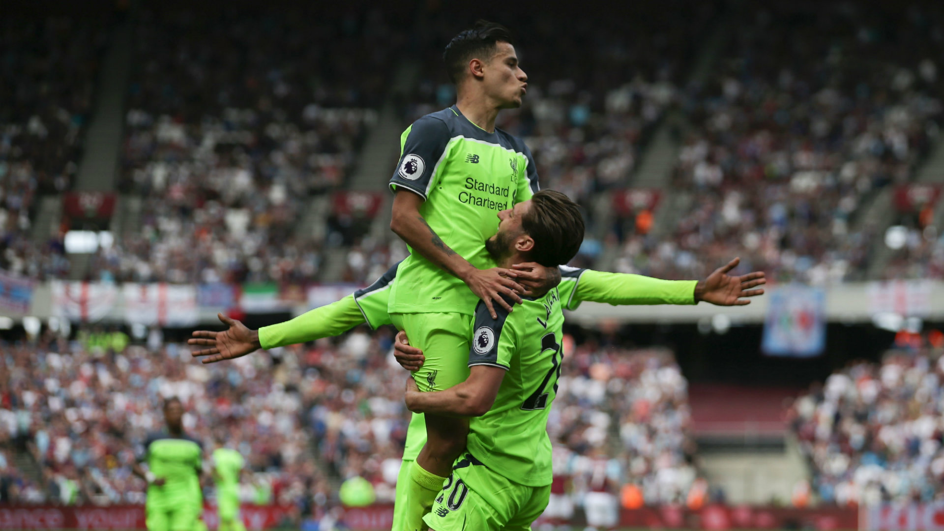 Philippe Coutinho West Ham v Liverpool