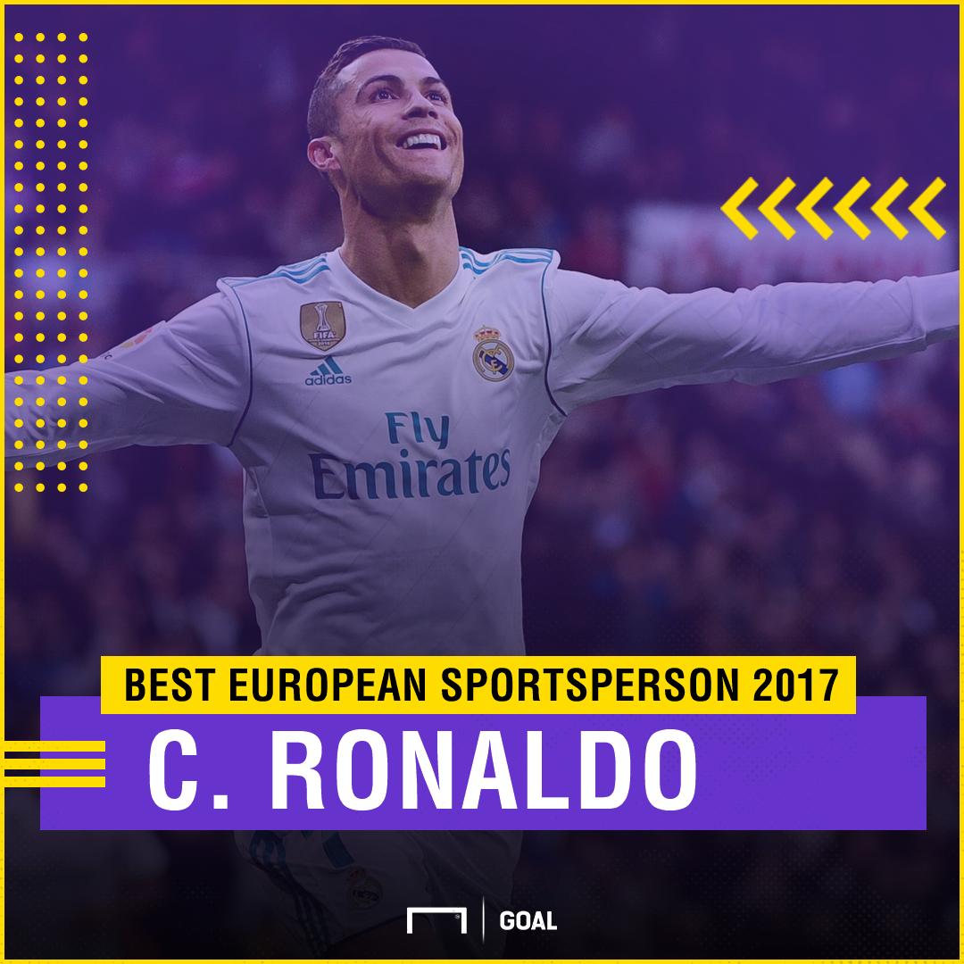 Cristiano Ronaldo Best European Sportsperson