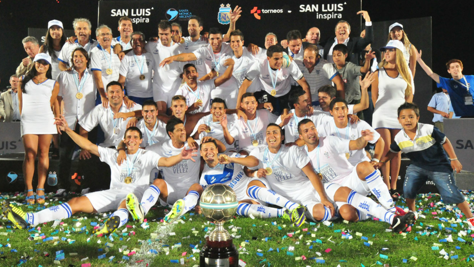 Velez Arsenal Supercopa Argentina 2013