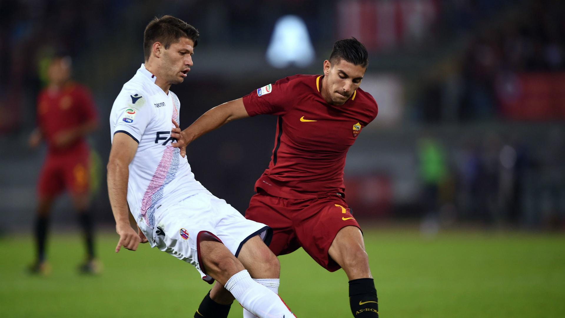 Lorenzo Pellegrini Roma Bologna Serie A
