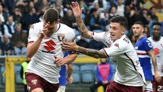 Belotti celeb Sampdoria Torino