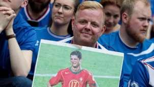 Iceland fan Cristiano Ronaldo