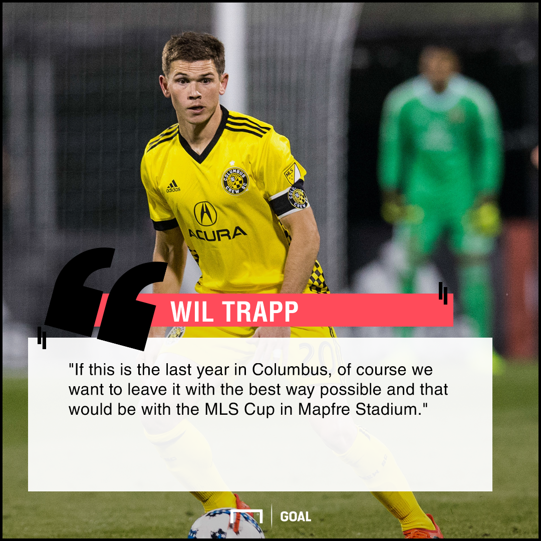 Wil Trapp playing surface