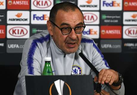 Sarri denies Chelsea future depends on Europa League final