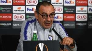 Sarri Chelsea press conference