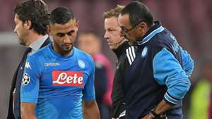 Ghoulam Sarri Napoli Manchester City