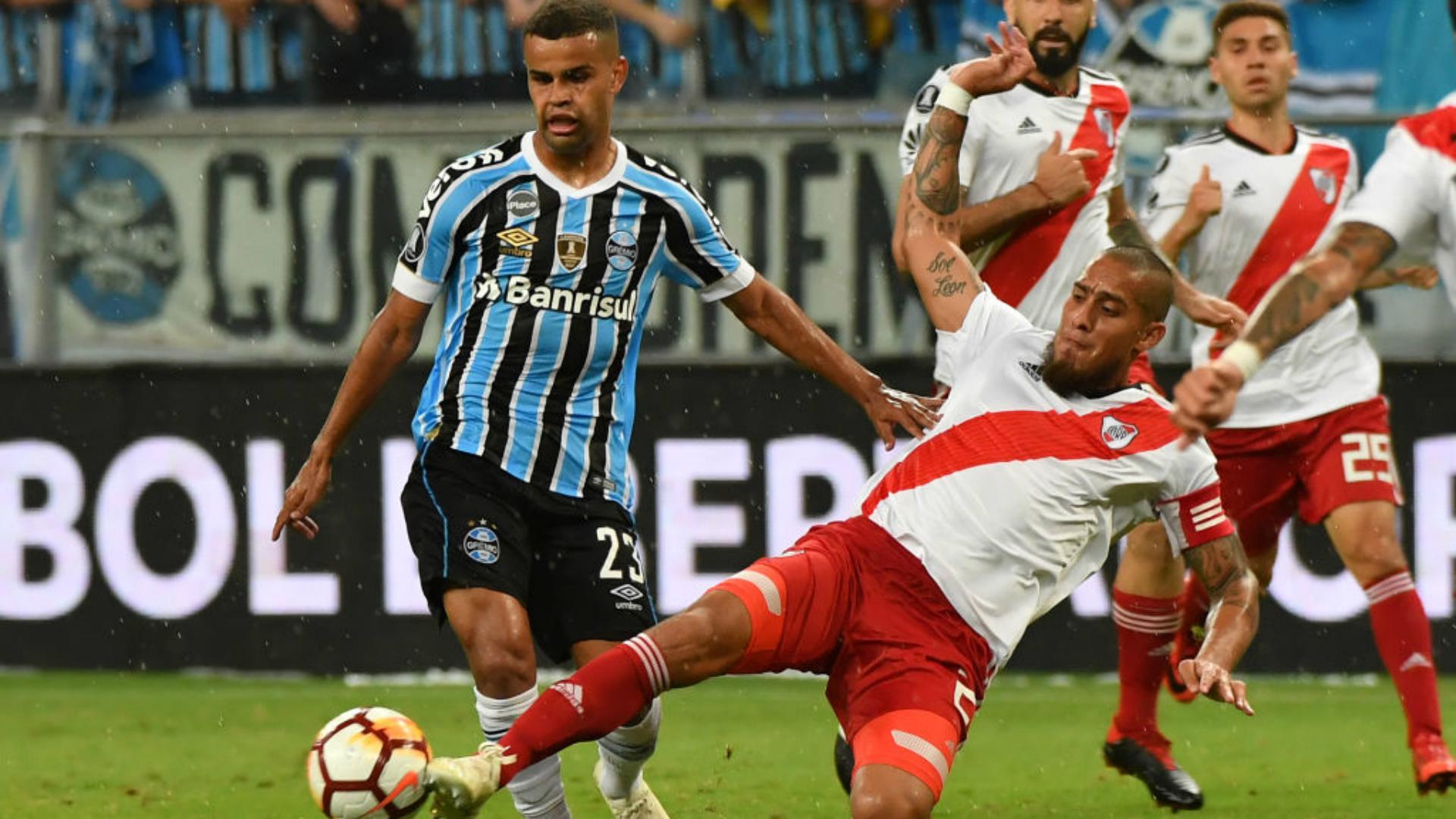 Alisson Grêmio River Plate Copa Libertadores 30102018