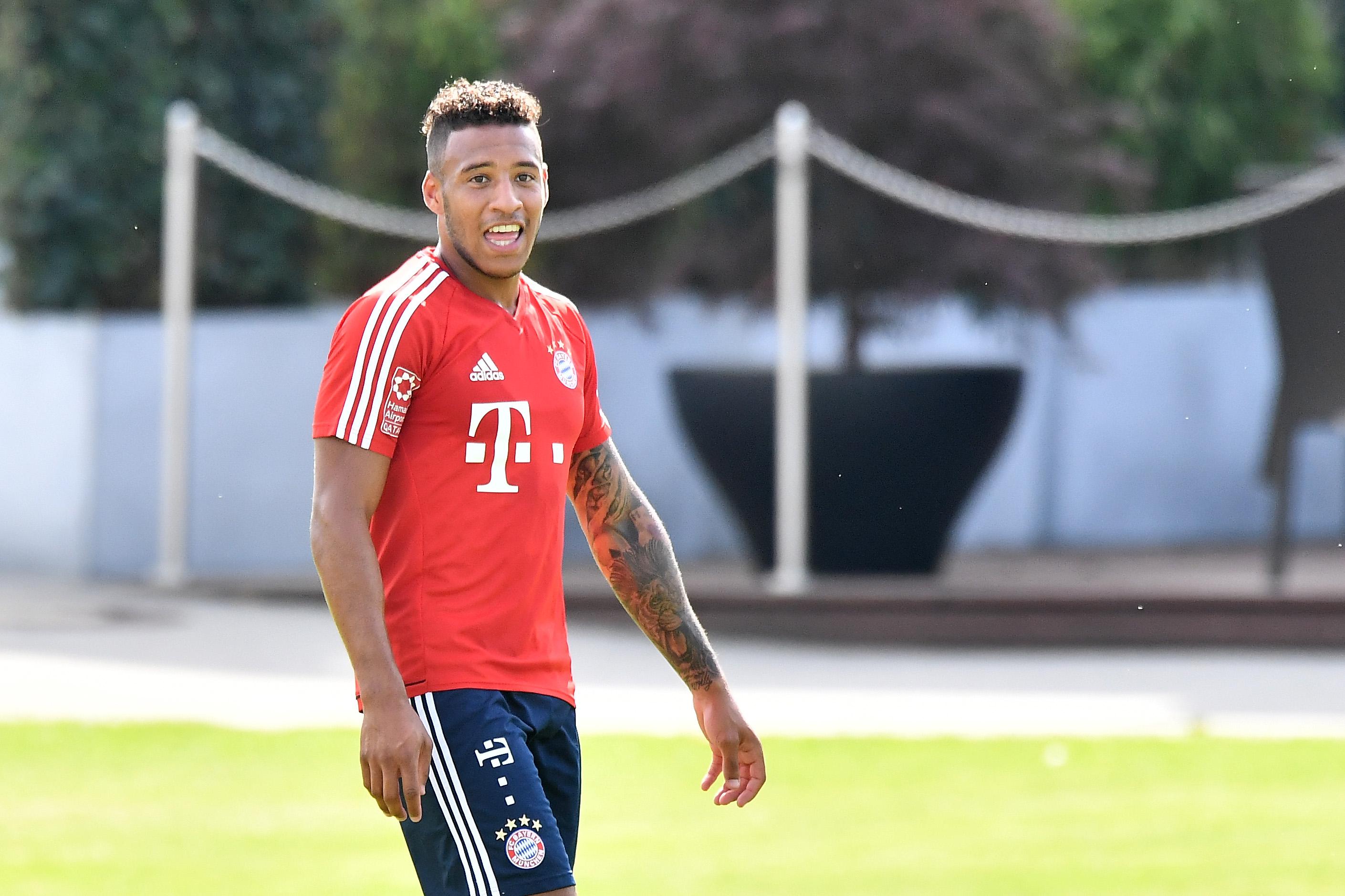 Corentin Tolisso Bayern München Training 12072017