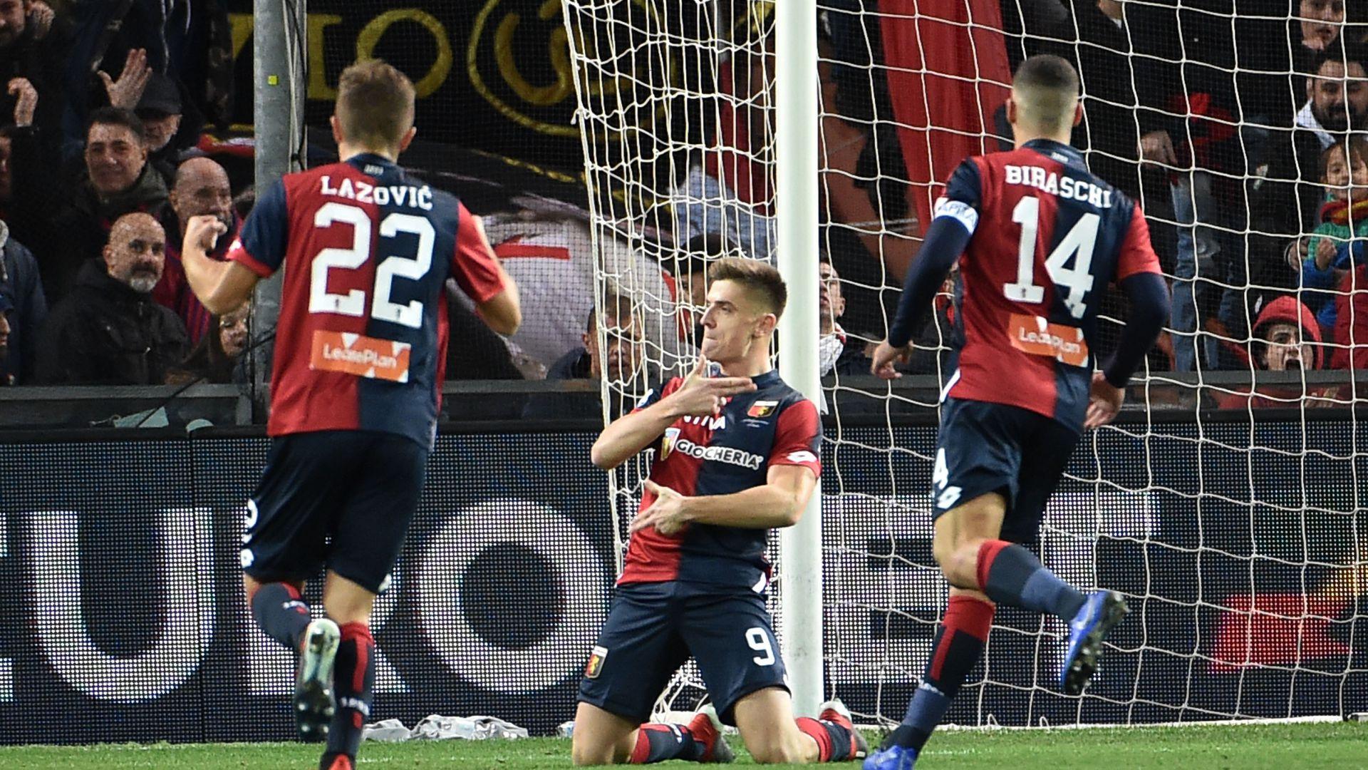 Krzysztof Piatek Genoa SPAL Serie A