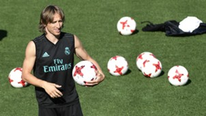 Luka Modric Real Madrid training session