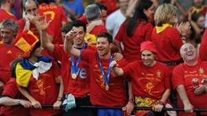 Xabi Alonso Spain World Cup 2010
