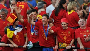Xabi Alonso Spain World Cup 2010