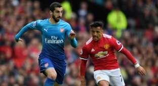 Henrikh Mkhitaryan Alexis Sanchez Manchester United Arsenal