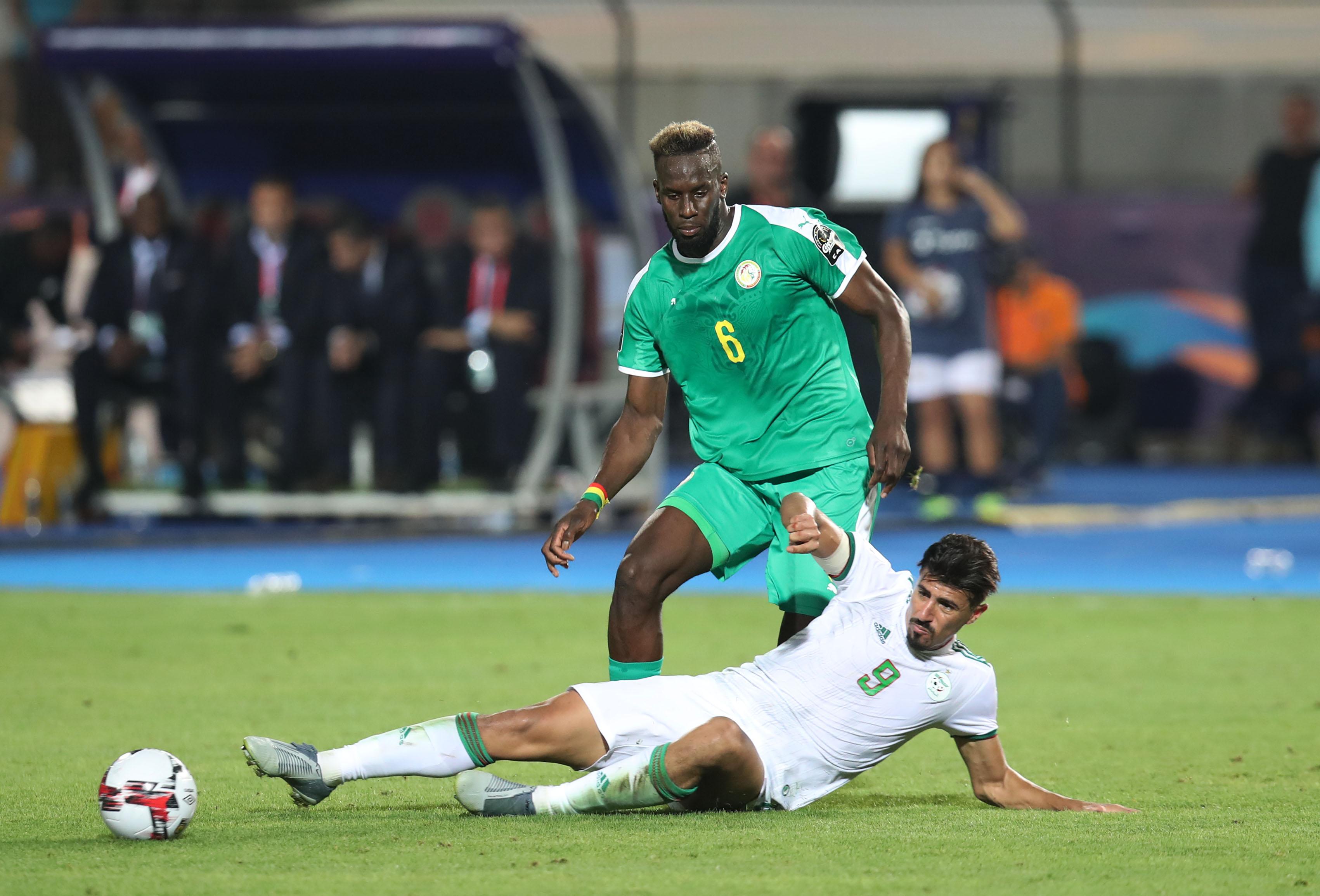 Salif Sane Senegal Baghdad Bounedjah Algeria