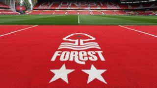 Nottingham Forest City Ground crest