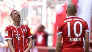 Franck Ribery Arjen Robben Bayern Munich