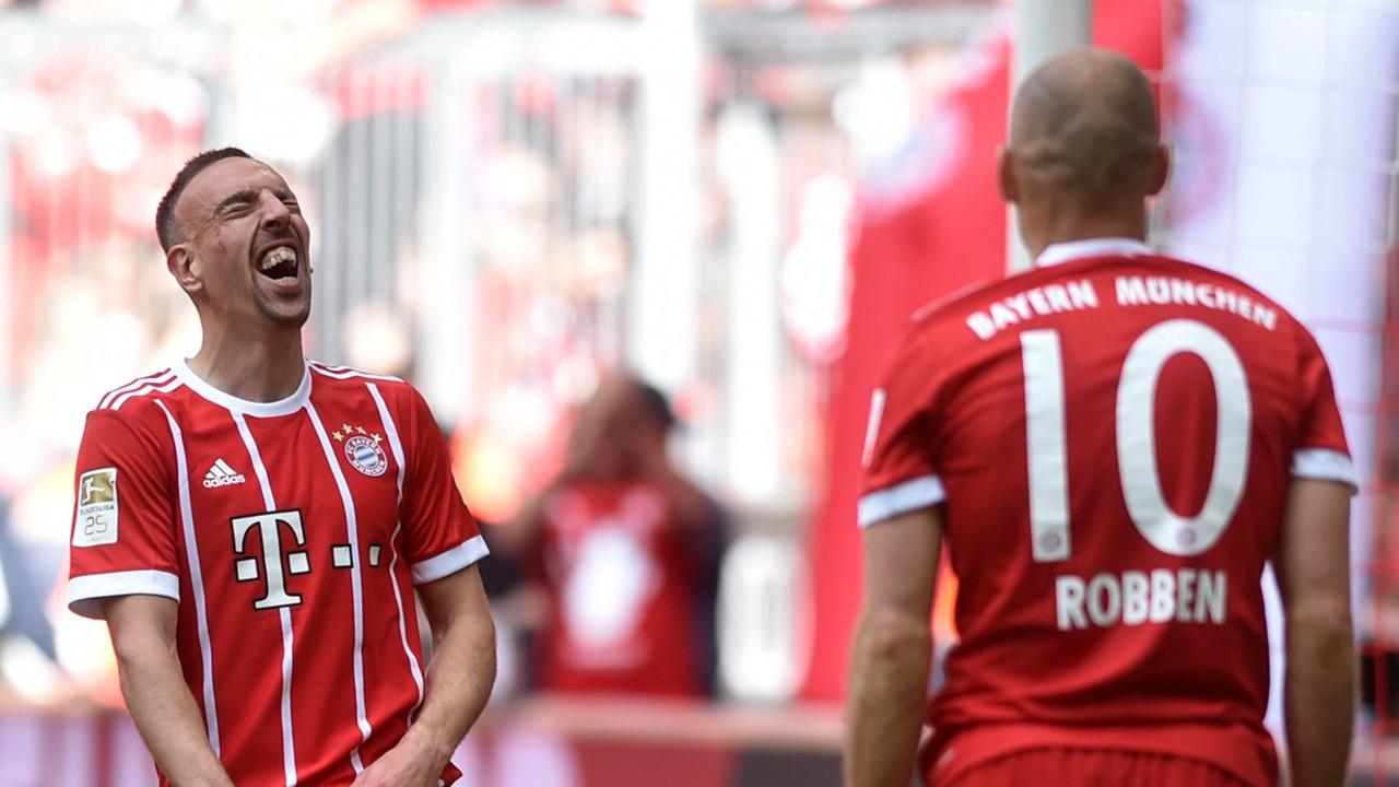 Transfer news Bayern Munich duo Franck Ribery and Arjen Robben