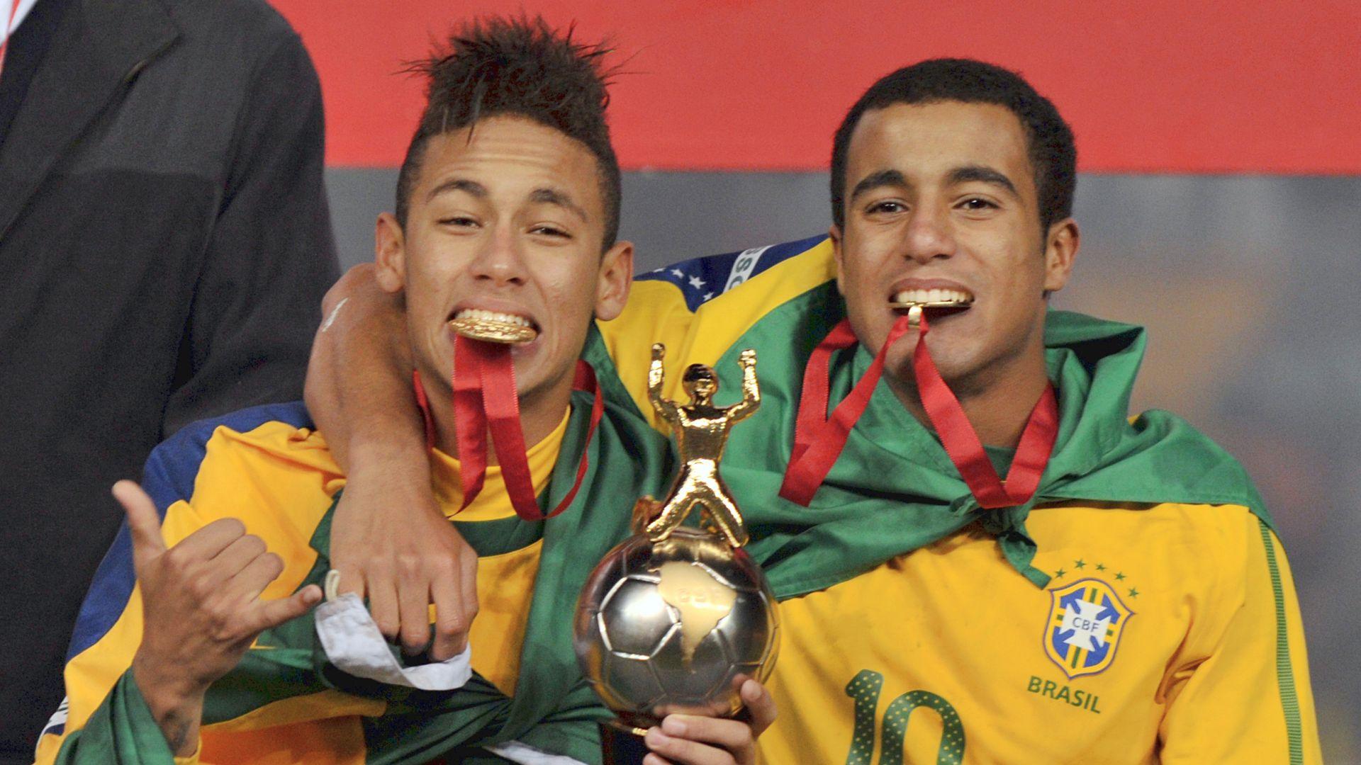Neymar Lucas Moura 2011 Brazil U20 championship