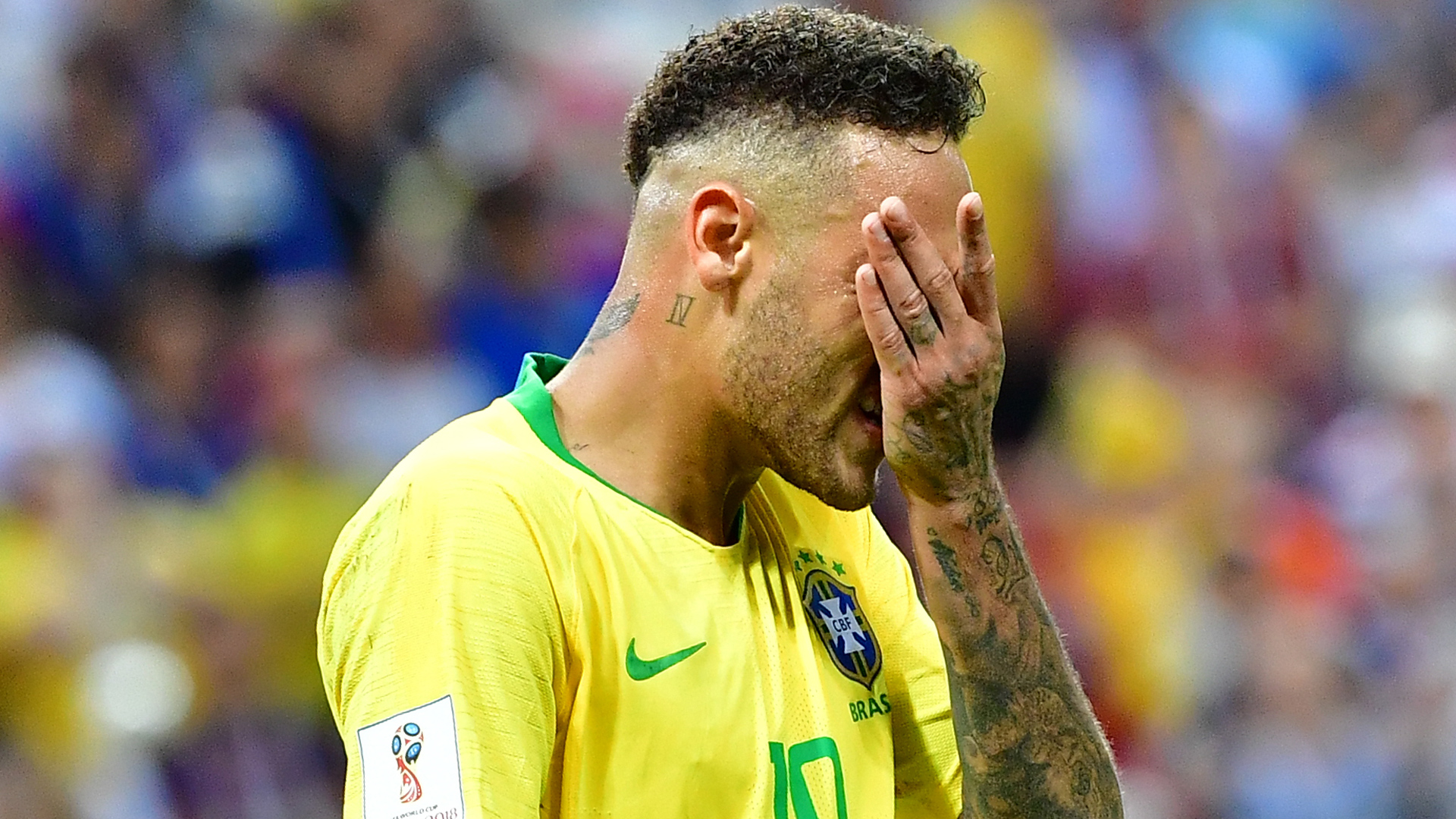 Neymar admitió que exageró las faltas en Rusia