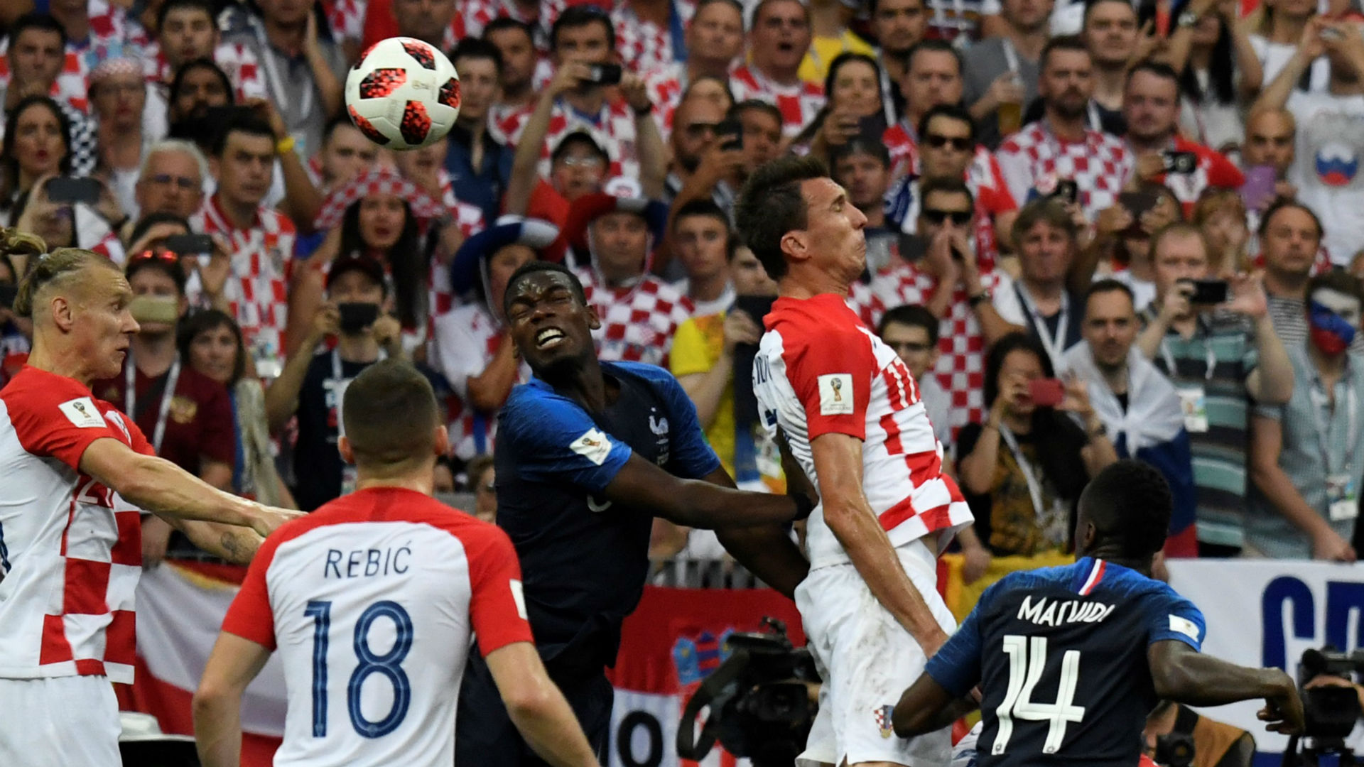Own goal Mario Mandzukic Croatia World Cup 2018 final