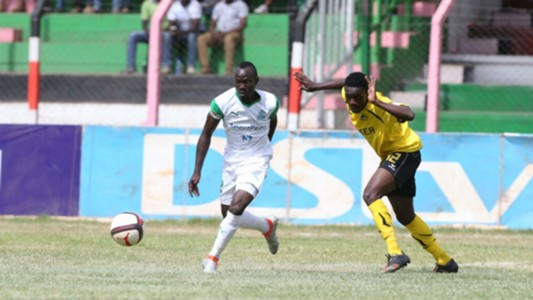 Godfrey Walusimbi in action for Gor Mahia against Tusker during 2017 Super Cup match