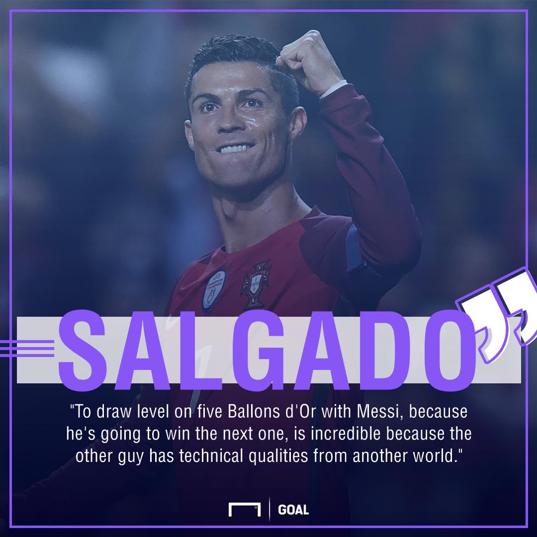 Cristiano Ronaldo Michel Salgado Ballon d'Or