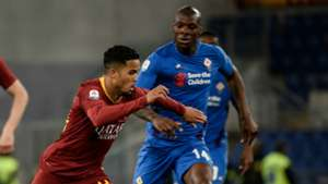 Justin Kluivert, AS Roma - Fiorentina, 04032019