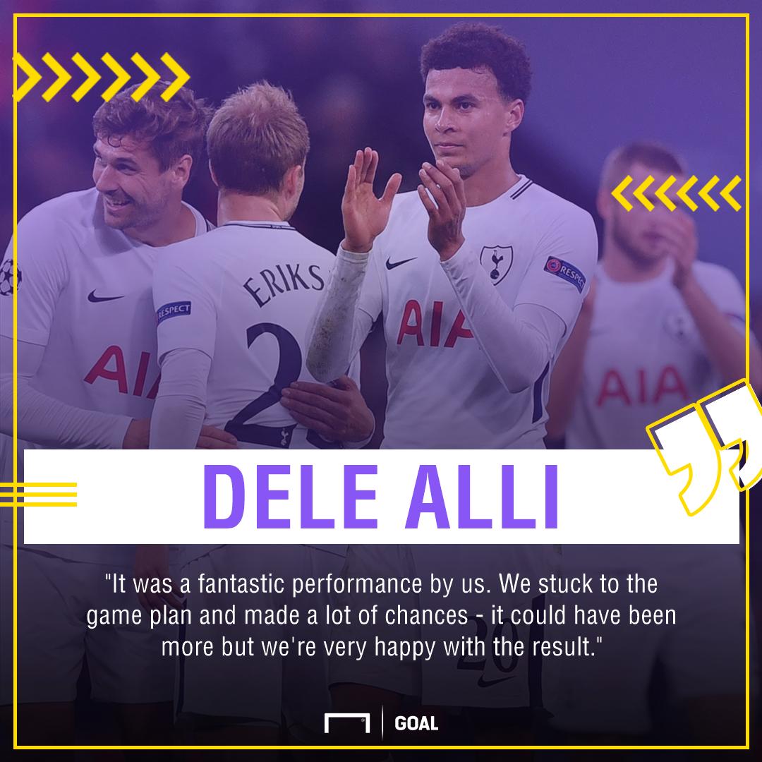 Dele Alli PS Real Madrid