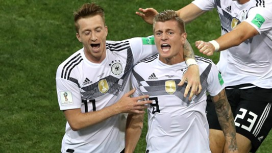 Marco Reus Toni Kroos Germany Sweden World Cup 2018