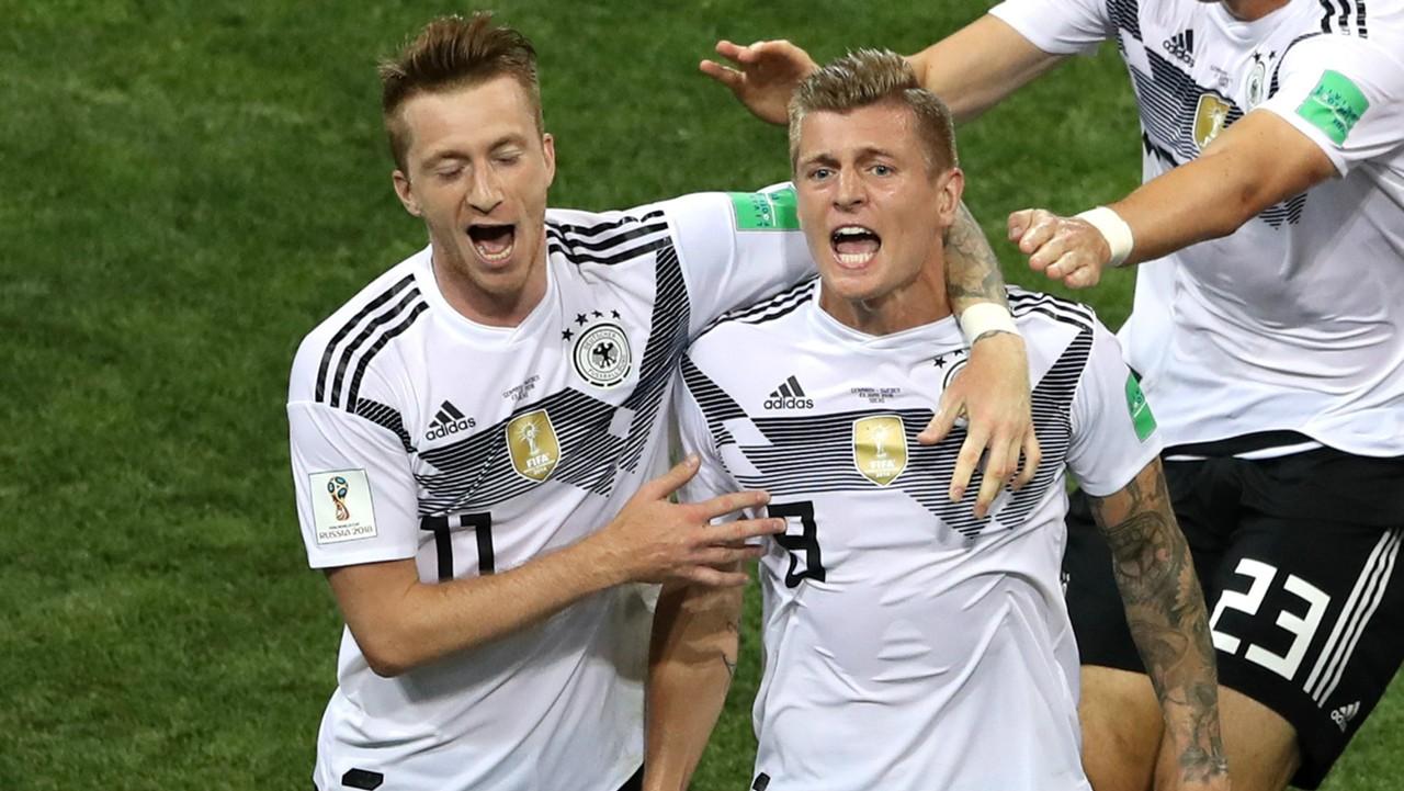 Allemagne, Kroos et Reus absent contre la Russie