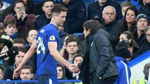 Gary Cahill Chelsea Leicester City