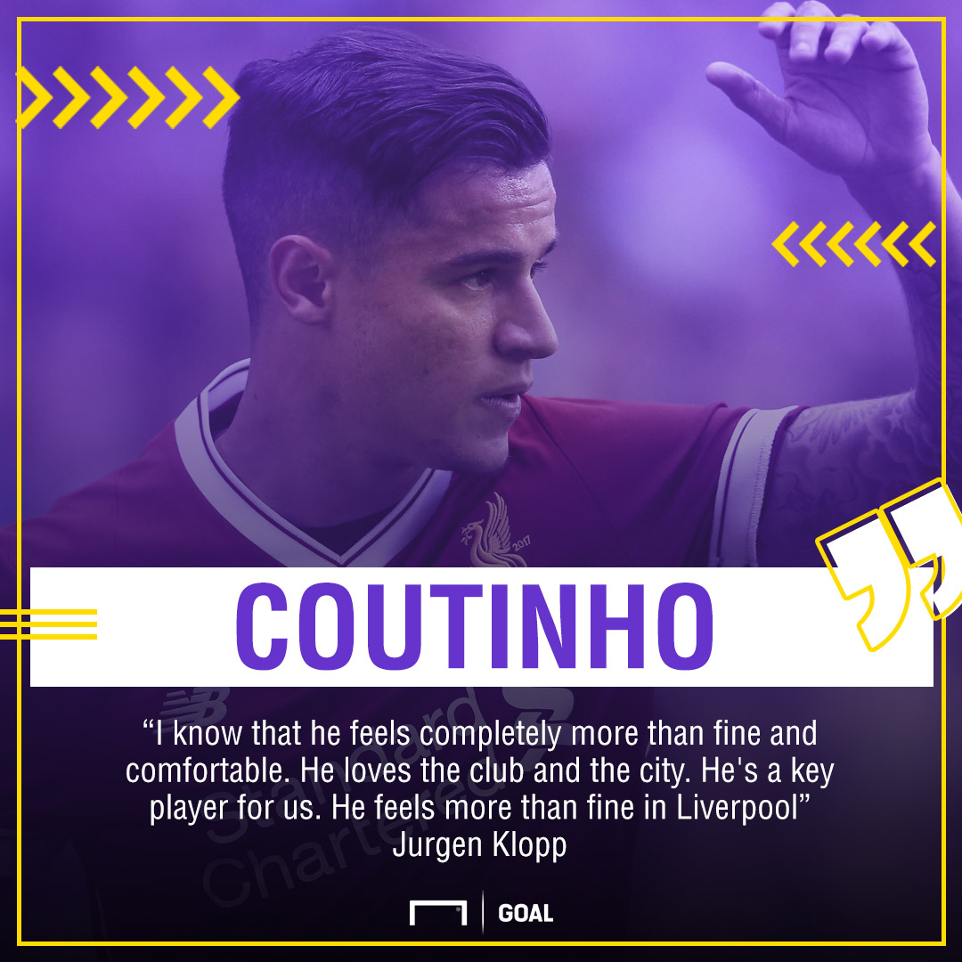 GFX Quote Phil Coutinho happy at Liverpool