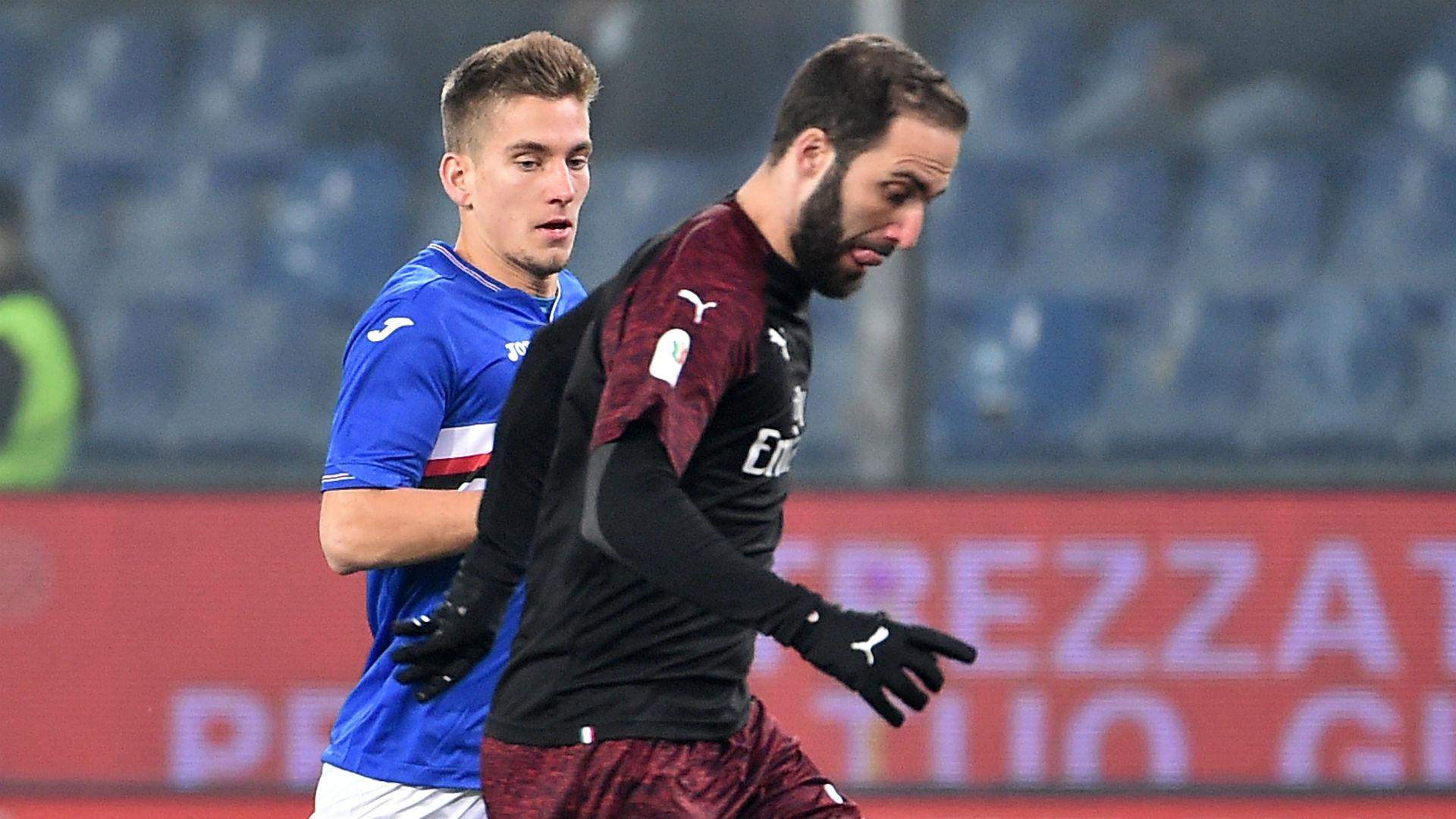 Gonzalo Higuain Sampdoria Milan