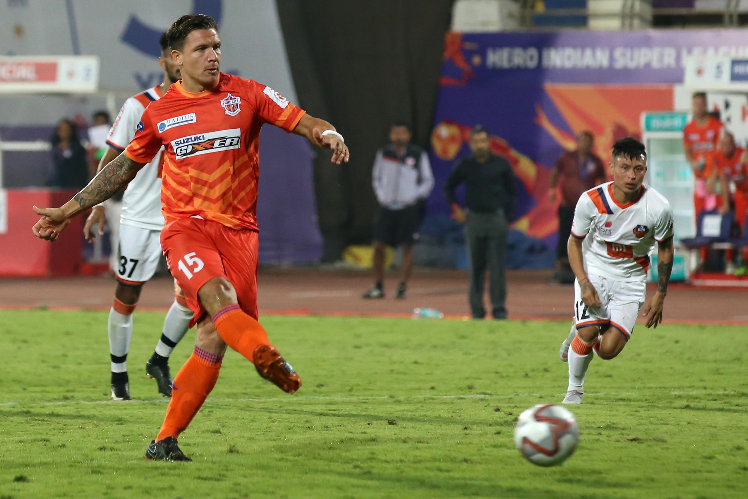 Marko  Stankovic FC Pune City FC Goa ISL