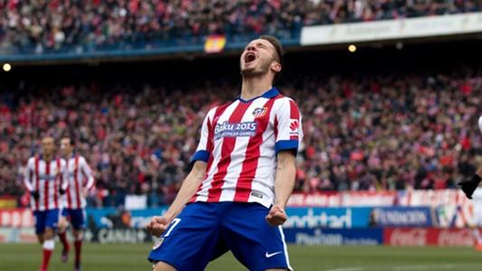 Saul Niguez Real Madrid Atletico La Liga 2015