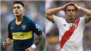 Pavon Rafael Santos Borre Boca River Libertadores 11112018