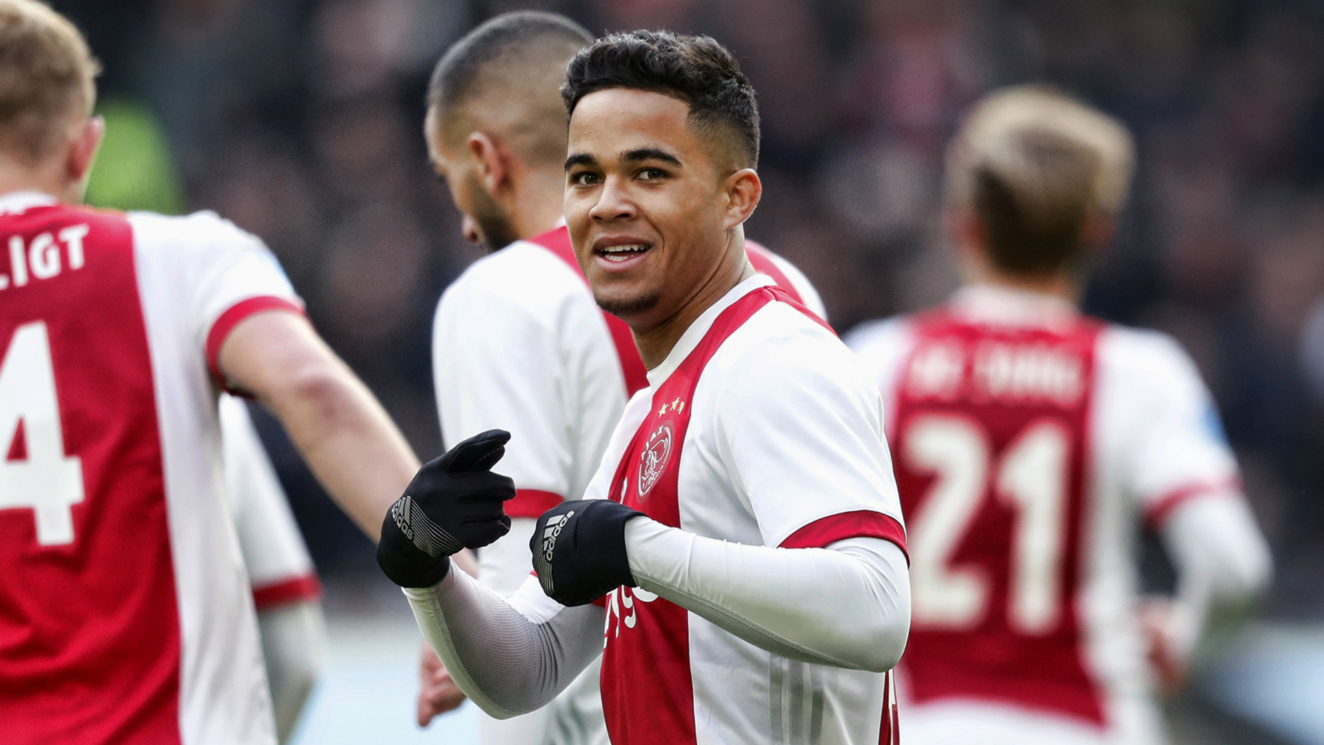 Justin Kluivert, Ajax - FC Twente, Eredivisie 02112018