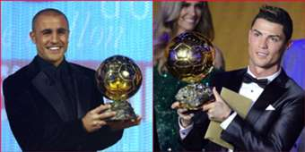 Cannavaro Ronaldo Balon d'or